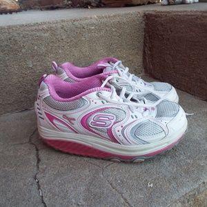 Skechers Shape-ups Breast Cancer Awareness Shoes
